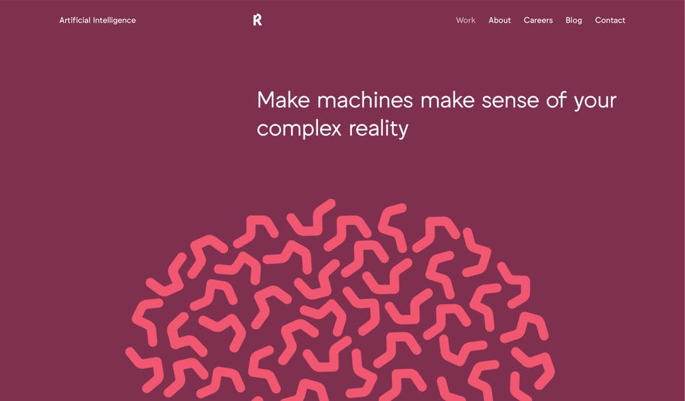 Machine learning reaktor site by Feed design